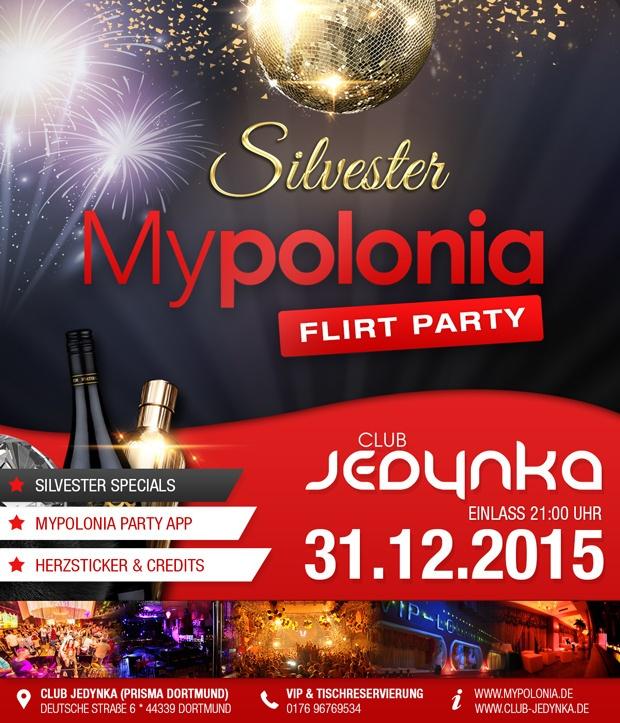 Mypoloniade Flirt Party Silvester 2015 Club Jedynka Prisma